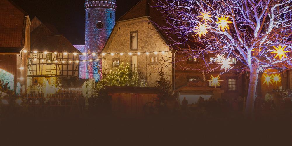 Christkinklmarkt Schloss Oelber
