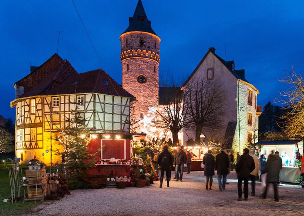 Christkindlmarkt Schloss Oelber 04.12.-06.12.2020 und  11.12.-13.12.2020